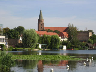 Dominsel in Brandenburg